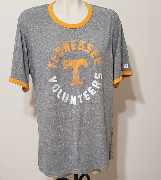 Russell Athletic Other - University of Tennessee Volunteers ringer tee, L